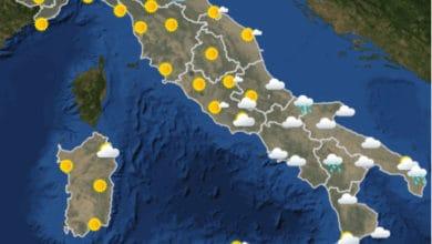 Photo of Meteo AM- Previsioni del tempo OGGI Aeronautica Militare