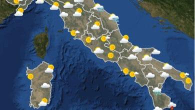 Photo of Meteo di domani: lunedi 23 Novembre 2020