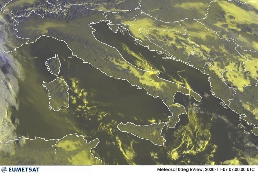Previsioni Meteo Italia 07-11-2020