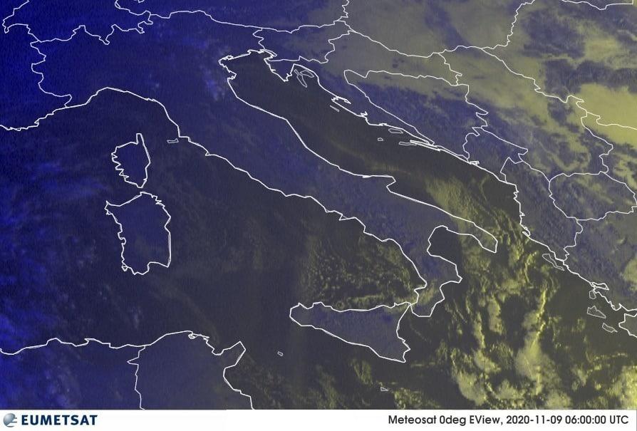 Previsioni Meteo Italia 09-11-2020