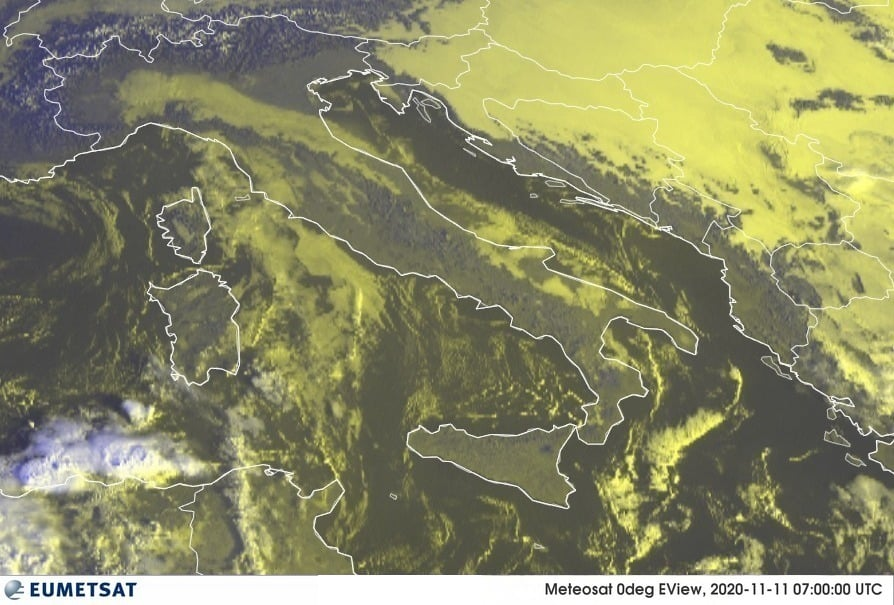 Previsioni Meteo Italia 11-11-2020