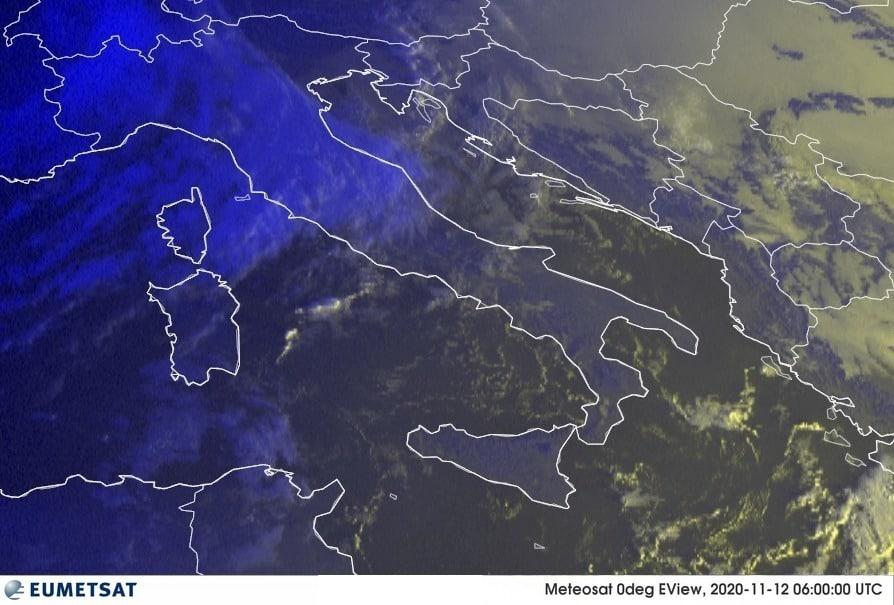 Previsioni Meteo Italia 12-11-2020