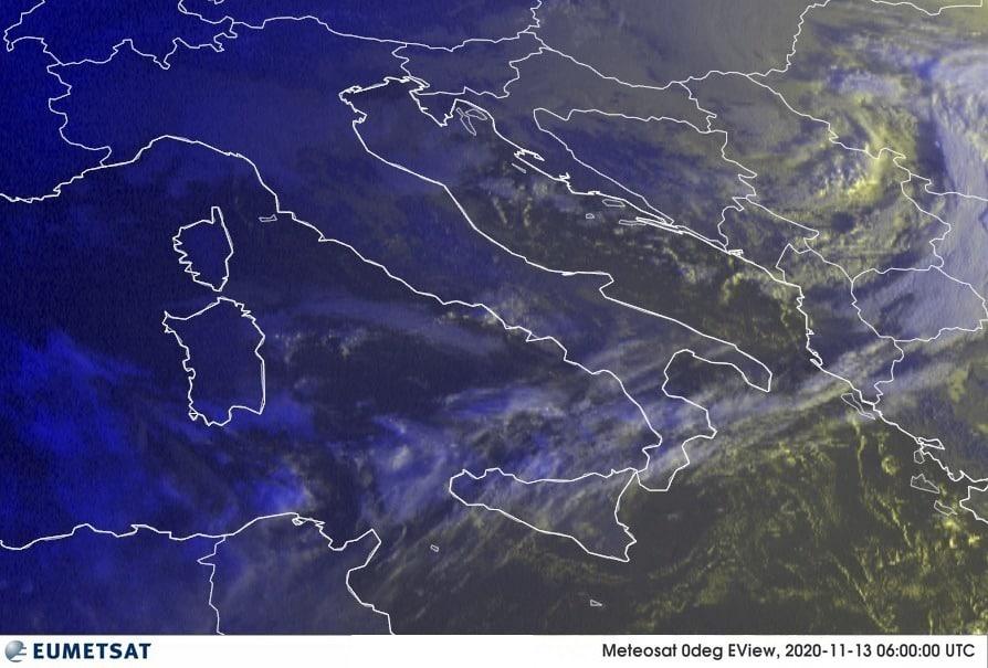 Previsioni Meteo Italia 13-11-2020