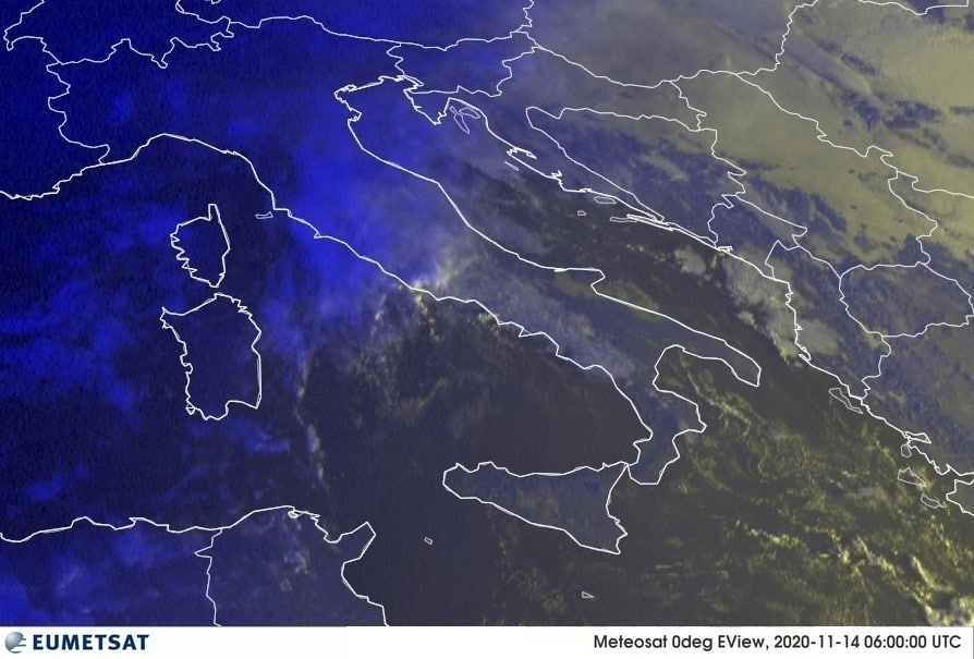 Previsioni Meteo Italia 14-11-2020