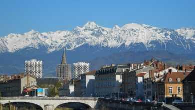 Photo of Anche la Francia inizia l'anno con la neve
