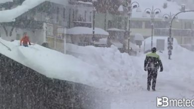 Photo of Meteo: ecco quanto arriverà la neve a bassa quota al centro sud.