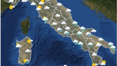 Photo of Meteo di domani 03-12-2020