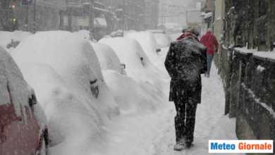 Photo of Meteo Giornale: NEVE storica al NORD