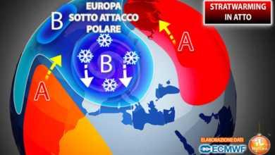 Photo of Meteo Giornale: stratwarming è fatta. Verso una forte ondata di gelo