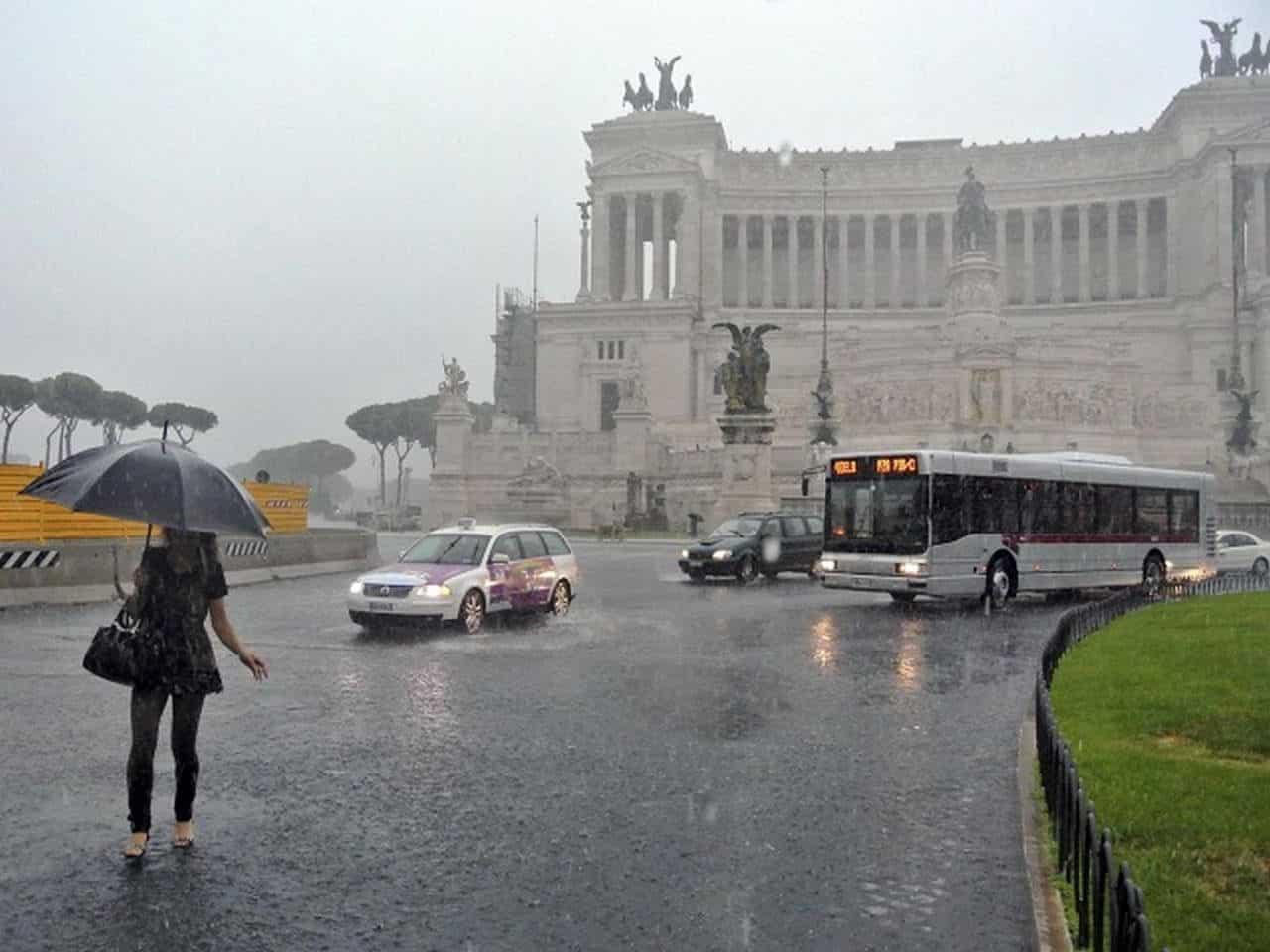 Il meteo roma nel fine settimana