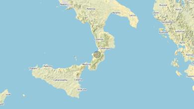 Photo of Terremoto 3 km SE Dinami (VV) – Magnitudo (ML) 3.6