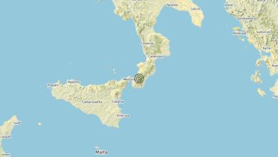 Photo of Terremoto 8 km NE Roccaforte del Greco (RC) – Magnitudo (ML) 3.9