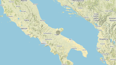 Photo of Terremoto 14 km E Foggia (FG) – Magnitudo (ML) 3.3