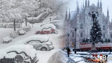 Photo of Ilmeteo in diretta, nevica in pianura in adriatico