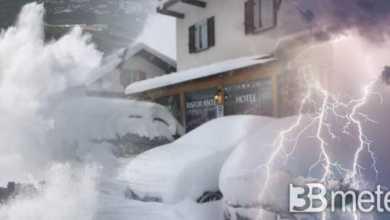 """Photo of 3B METEO """" Vortice di Capodanno, neve in pianura"""""""