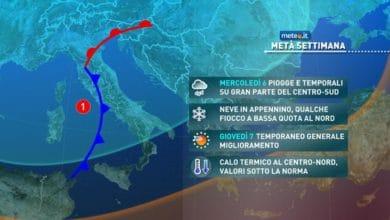 Photo of Emergenza maltempo, ecco le regioni dove è più alta