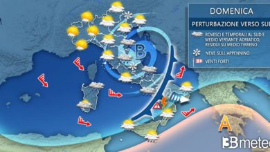 Photo of Ilmeteo del weekend: piogge, temporali, vento e NEVE