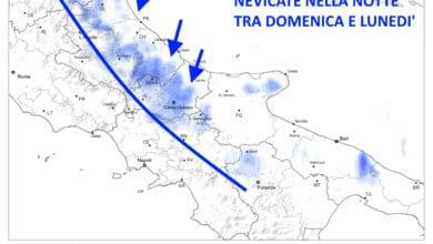 Photo of Previsioni meteo: residue nevicate ma da metà settimana più mite