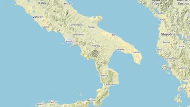 Photo of Terremoto 6 km NE Lagonegro (PZ) – Magnitudo (ML) 3.2