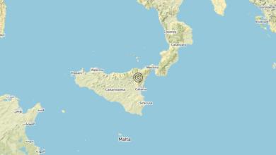 Photo of Terremoto 11 km W Milo (CT) – Magnitudo (ML) 3.6