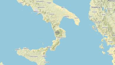 Photo of Terremoto 4 km W Parenti (CS) – Magnitudo (ML) 3.0