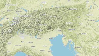Photo of Terremoto 3 km W Belluno (BL) – Magnitudo (ML) 3.0