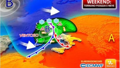 Photo of Il Meteo: anticiclone africano e vortice polare