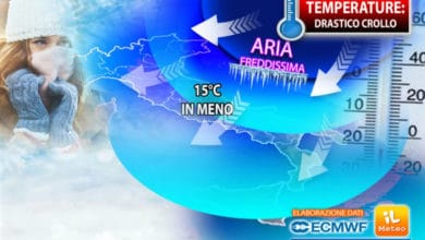 Photo of Meteo: ECCO BURIAN IN ITALIA! 15°C in MENO in poche ore. I Dettagli
