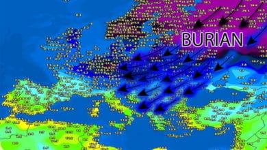 Photo of 3B Meteo, Abruzzo: GELO e NEVE IN ARRIVO nel weekend fin sulle SPIAGGE, anche a Pescara, Chieti, Vasto