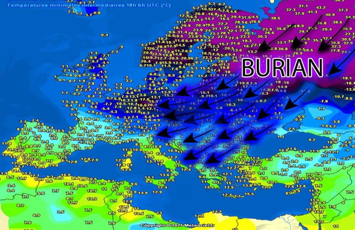 Le previsioni meteo