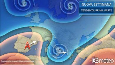 Photo of Febbraio: previsioni meteorologiche lungo termine
