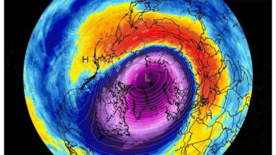 Photo of Meteo 3b: VORTICE POLARE in due lobi influenzerà l'Europa e il Nord America