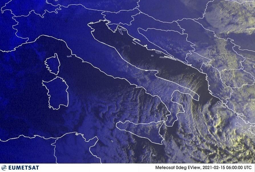 Previsioni Meteo Italia 15-02-2021
