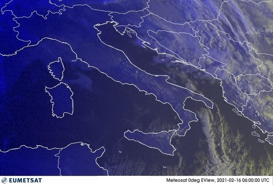 Previsioni Meteo Italia 16-02-2021