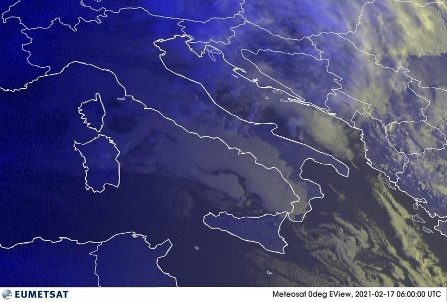 Previsioni Meteo Italia 17-02-2021