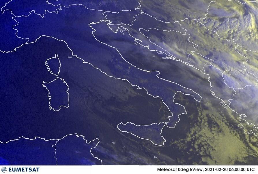 Previsioni Meteo Italia 20-02-2021