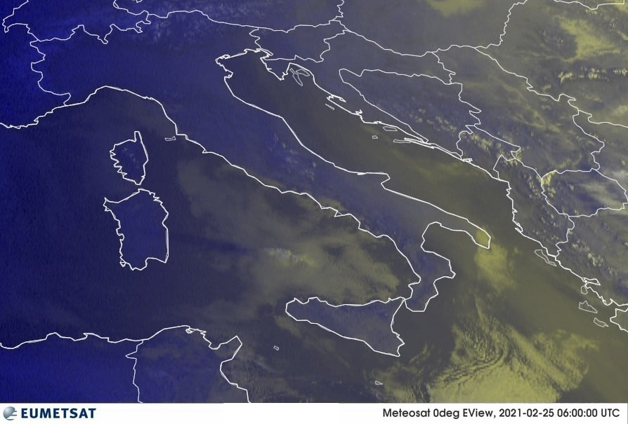 Previsioni Meteo Italia 25-02-2021