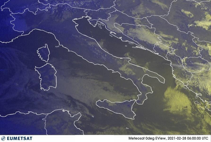 Previsioni Meteo Italia 28-02-2021