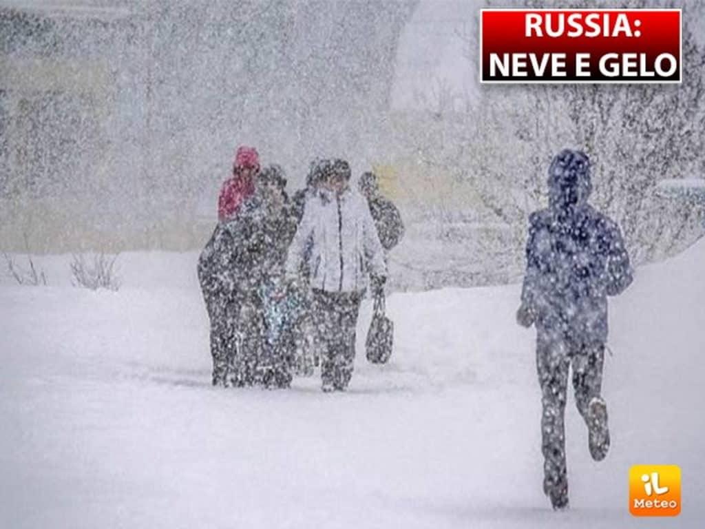 Nevicate abbondanti e meteo inverno 2021-2022