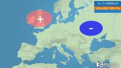 """Photo of 3B Meteo: STRATWARMING, GELO ARTICO scende in Europa con VORTICE POLARE. Febbraio di 'ESTREMI"""""""
