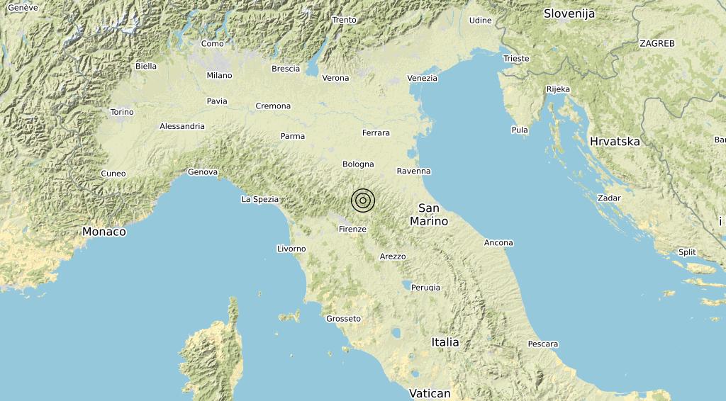 Terremoto 20-02-2021