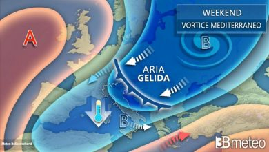 Photo of 3B METEO: WEEKEND tra GELO e NEVE anche a QUOTE BASSE