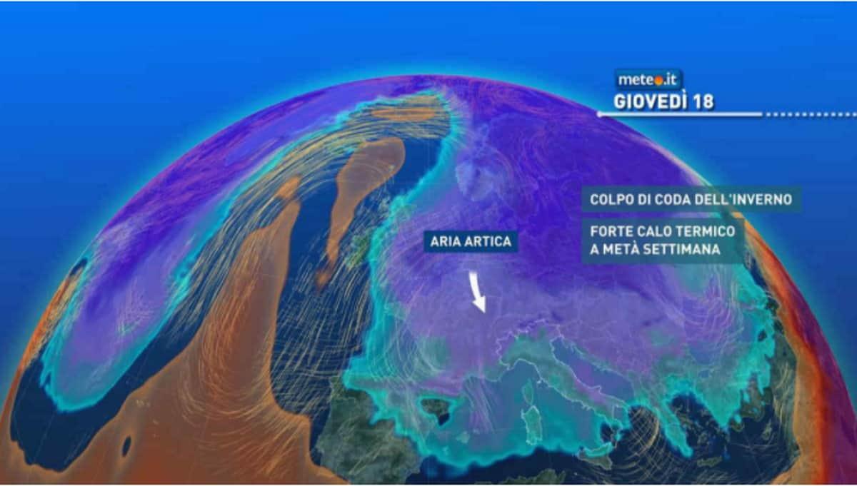 Meteo e previsioni del tempo nelle prossime ore