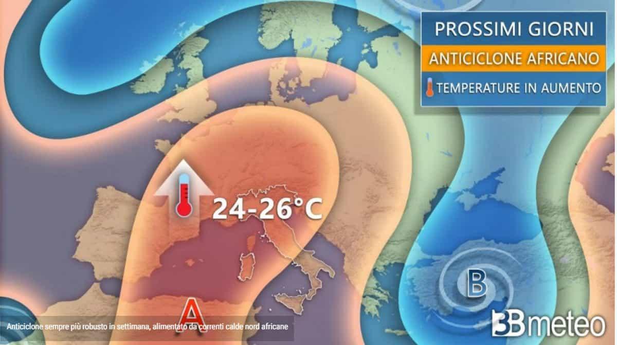 Le previsioni per la settimana di Pasqua a cura di 3b meteo