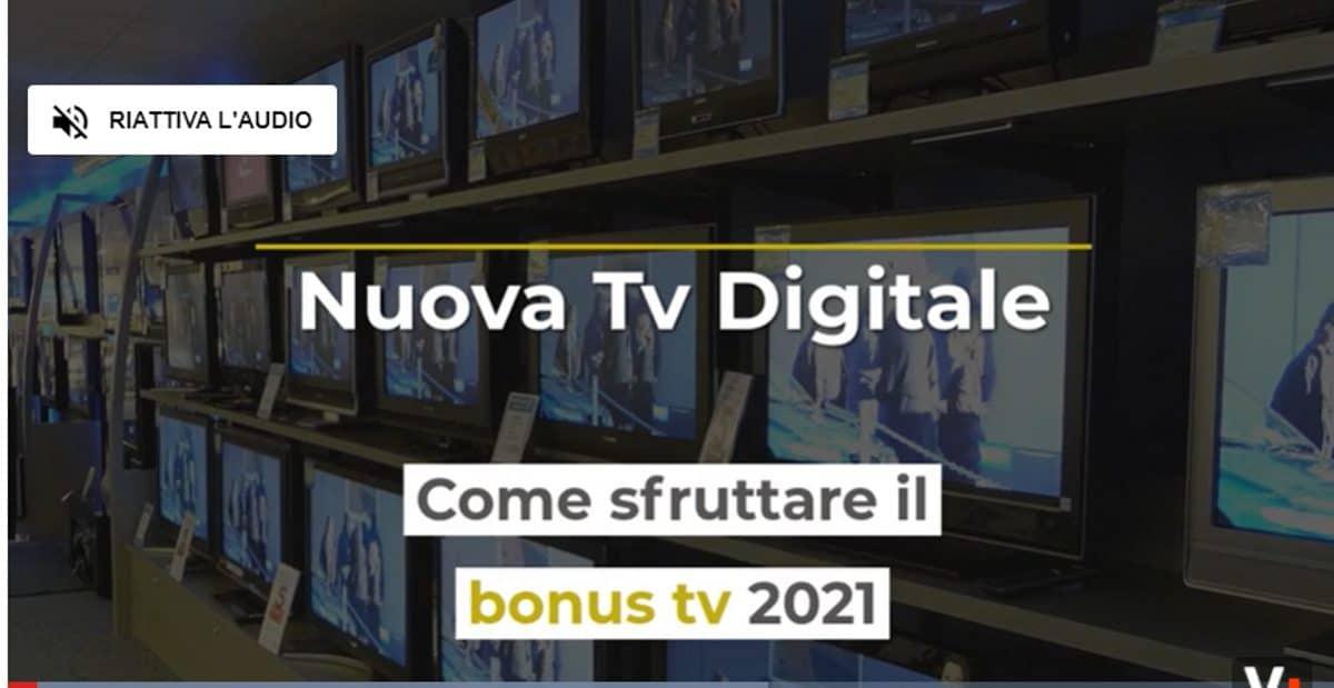 Il nuovo bonus tv