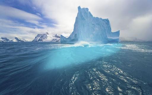 Previsione ghiaccio artico