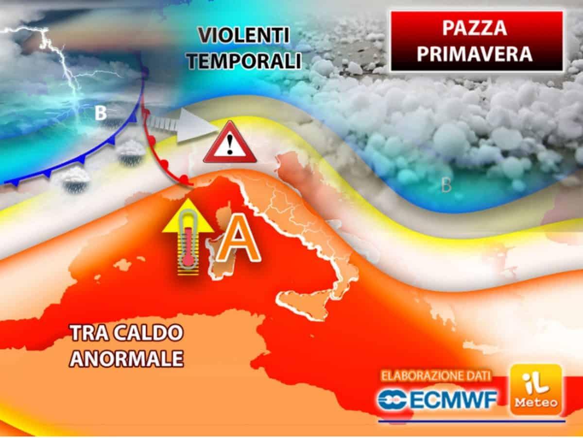 Previsioni meteo aprile 2021