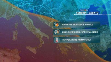 Photo of Meteo di domani: stop al freddo, ma il 26 marzo torna qualche pioggia
