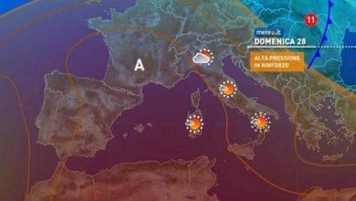 Photo of Meteo di domani, domenica delle PALME