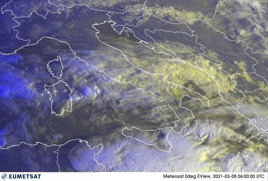 Previsioni Meteo Italia 08-03-2021
